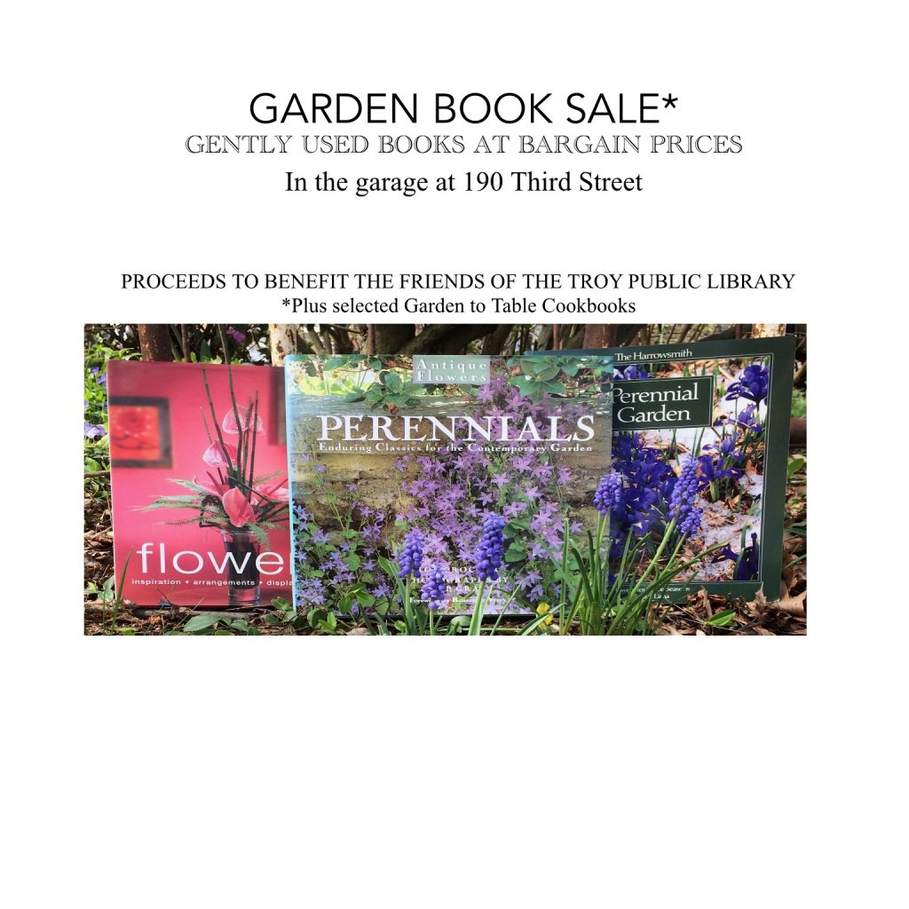 Join us during the Garden Tour 5/23/19