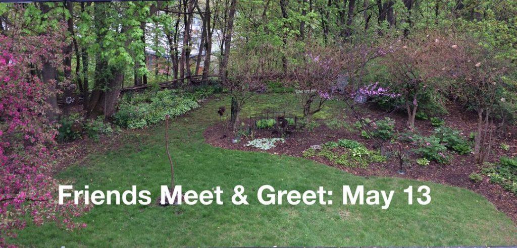 Friends Meet & Greet May 13th